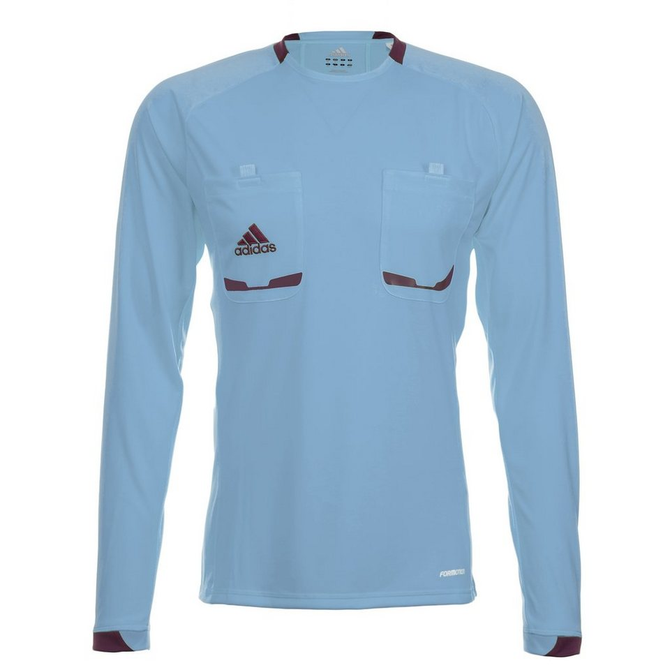 adidas Performance Referee 12 Schiedsrichtertrikot Herren in hellblau / lila