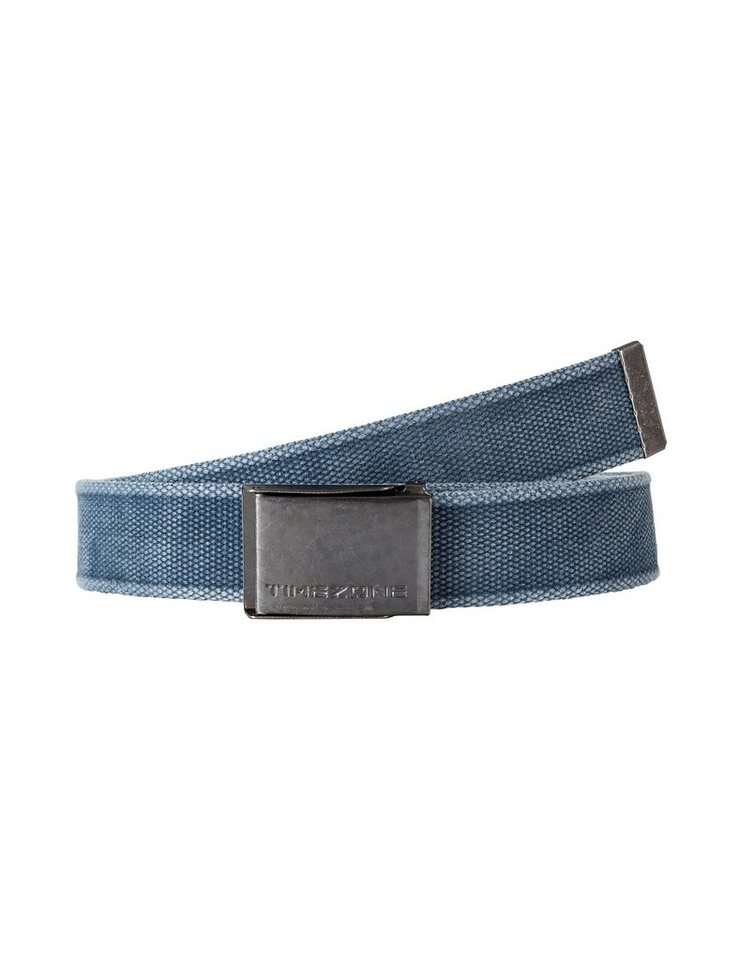 TIMEZONE Gürtel »Unisex canvas belt« in mood indigo