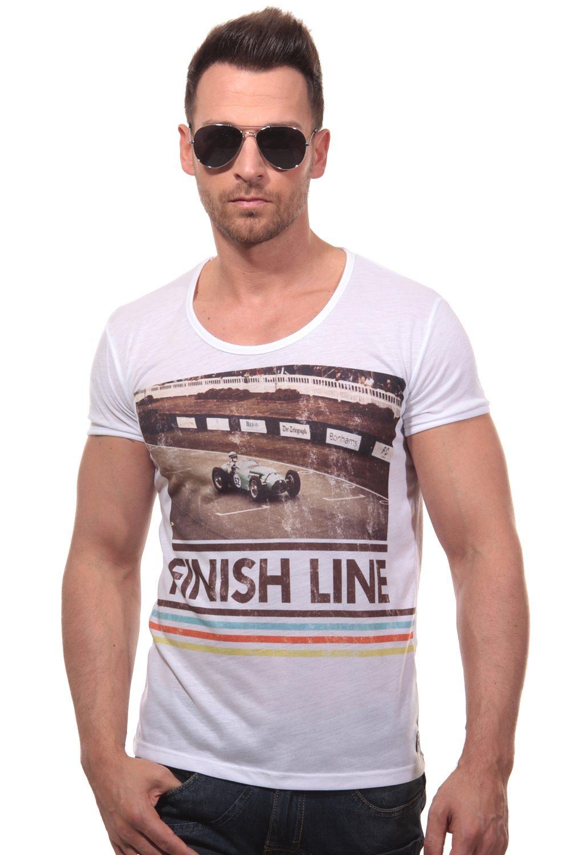CATCH T-Shirt Rundhals slim fit