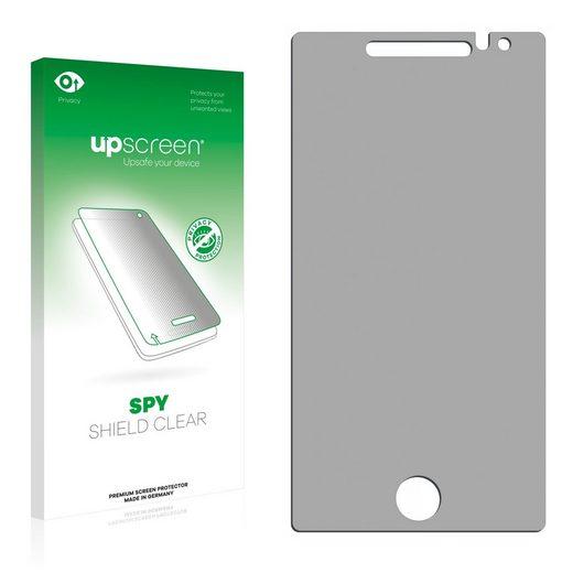 upscreen Schutzfolie »für Samsung Omnia 7«, Folie Schutzfolie Sichtschutz klar anti-spy