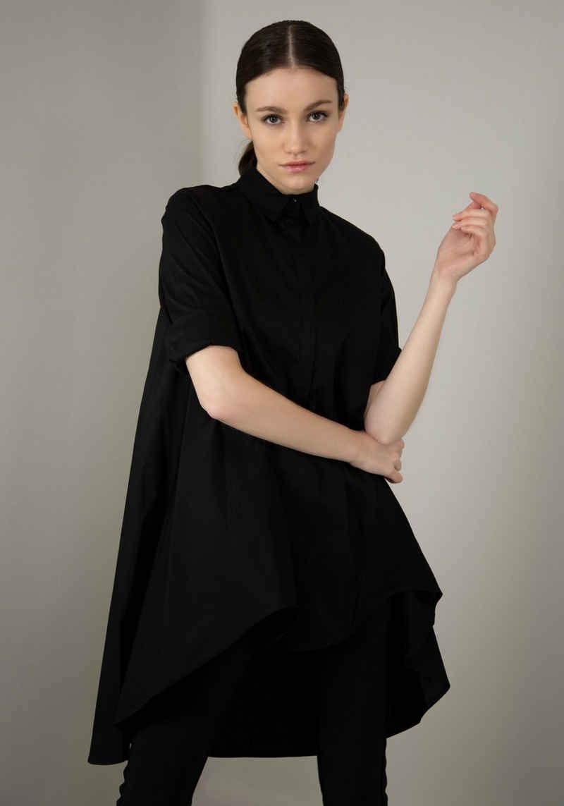IMPERIAL Klassische Bluse »IMP-C ED3ABF« glockenförmige Long-Form