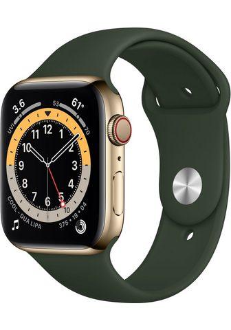 Apple Series 6 GPS + Cellular Edelstahlgehäu...