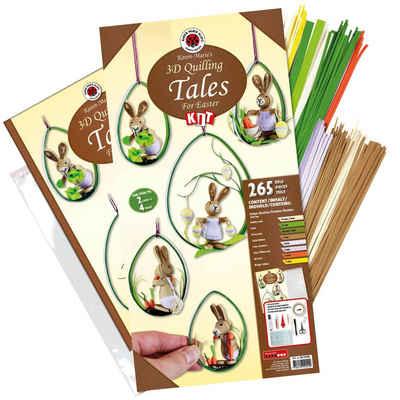 Karen Marie Klip Papiersterne »Karen-Marie Quilling-Set Tales for Easter«, Komplett-Set
