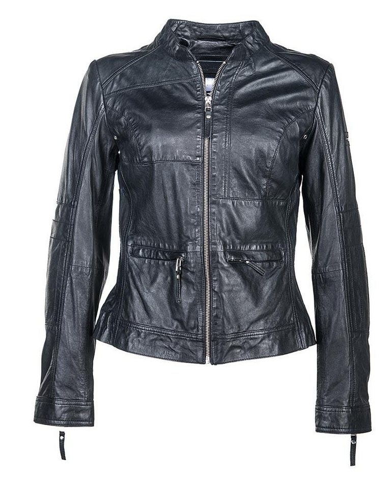JCC Lederjacke, Damen »Friday« in schwarz