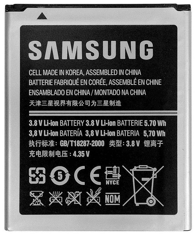 Samsung Batterie »Akkublock 1.500mAh Li-Ion für Galaxy S3 Mini« in Silber/Schwarz