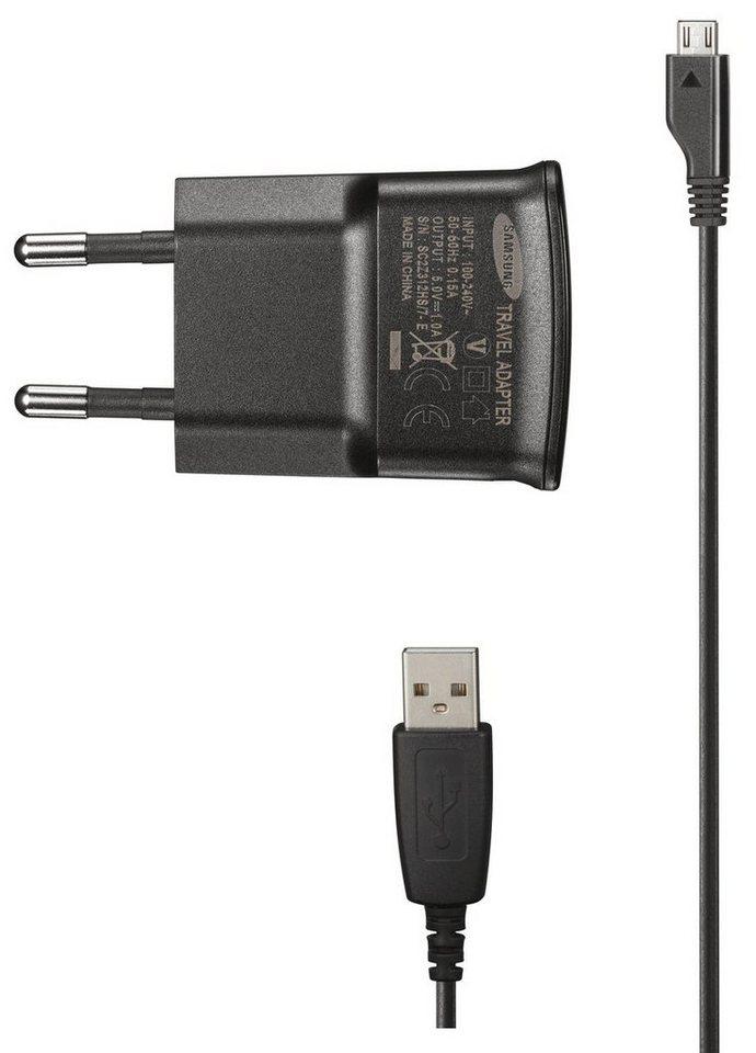 Samsung Reiseladegerät »Reiseladegerät ETA0U80E (schwarz, Micro USB)« in Schwarz