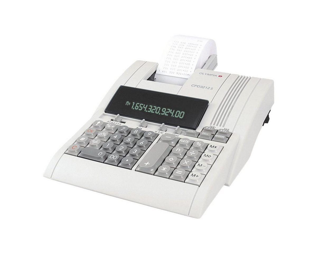 OLYMPIA OFFICE Druckender Tischrechner »CPD 321...
