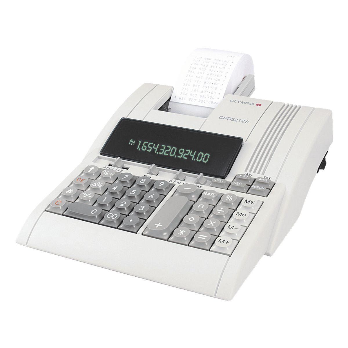 Olympia Druckender Tischrechner »CPD 3212 T«