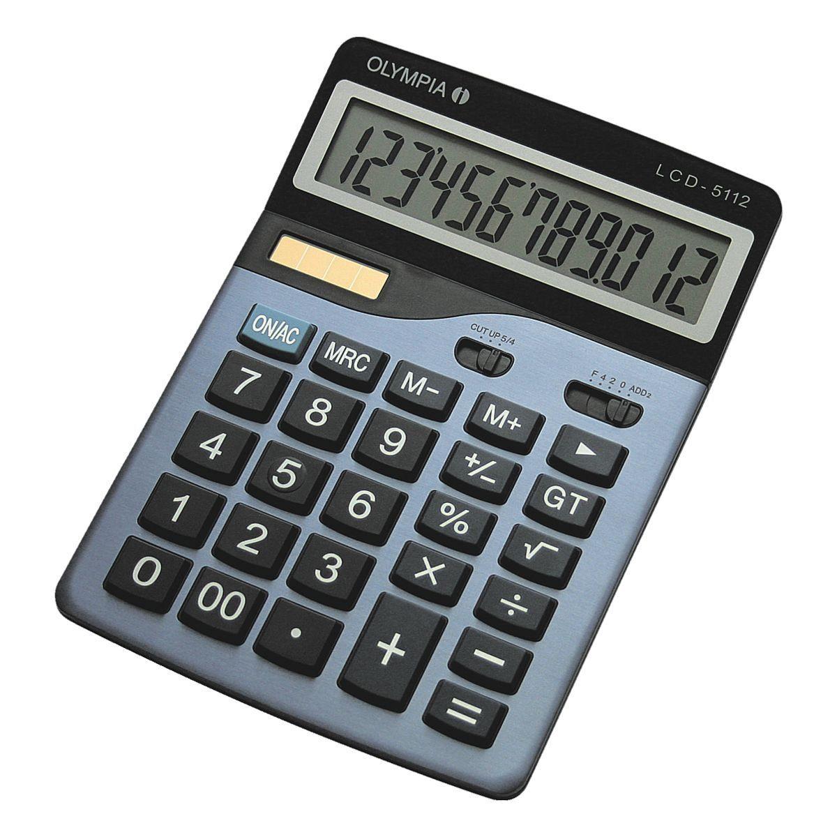 Olympia Tischrechner »LCD 5112«