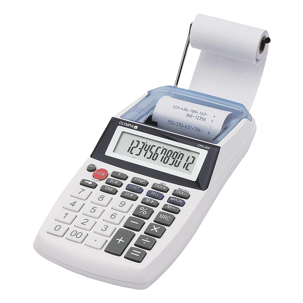 OLYMPIA OFFICE Druckender Tischrechner »CPD 425«