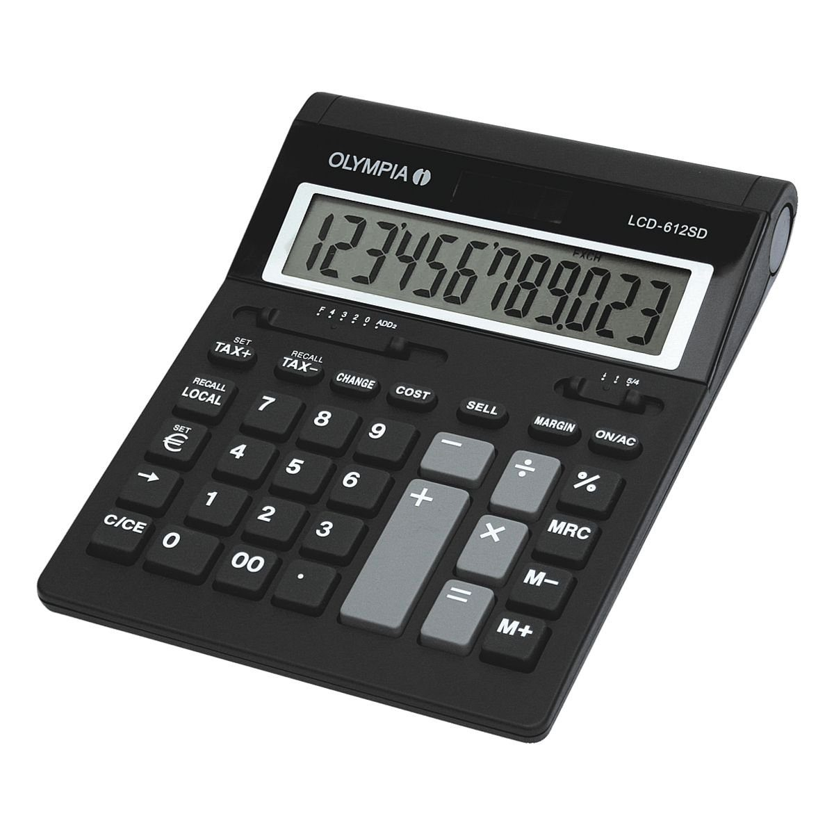 OLYMPIA OFFICE Tischrechner »LCD 612 SD«