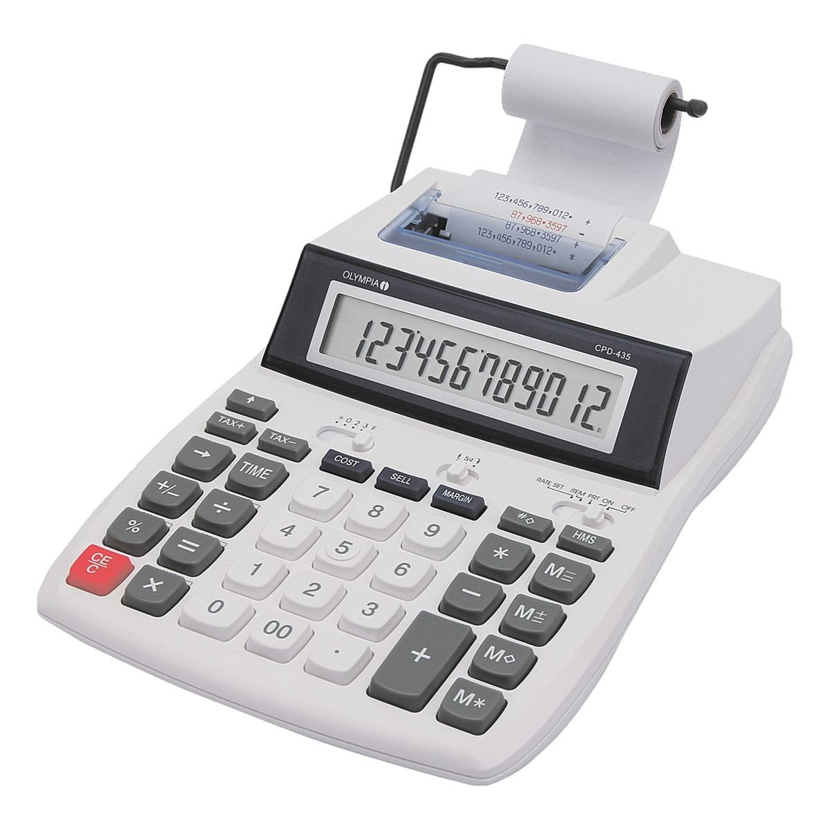 OLYMPIA OFFICE Druckender Tischrechner »CPD 435«