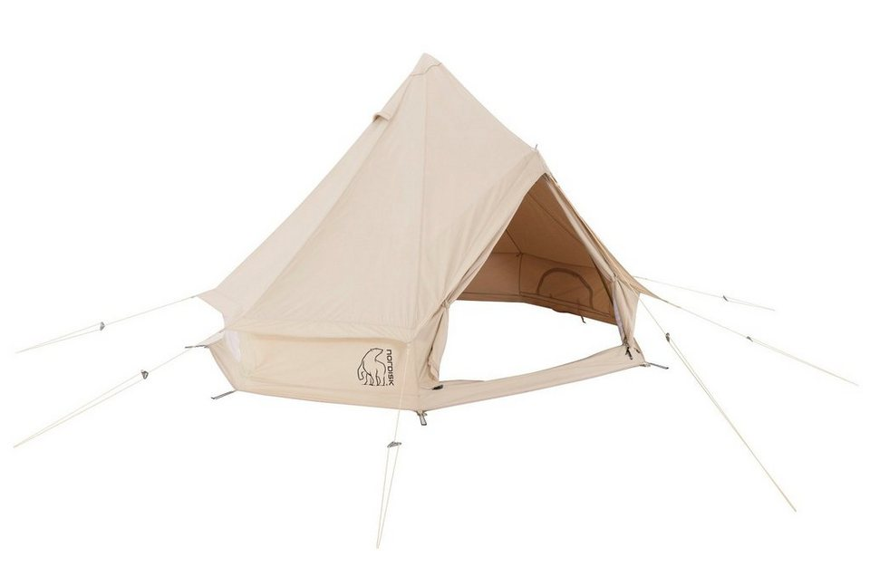 Nordisk Zelt »Asgard 12.6 m² Tent Technical Cotton« in beige