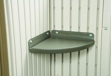 lifetime eckregal f r kunststoffh user 24x24 cm otto. Black Bedroom Furniture Sets. Home Design Ideas