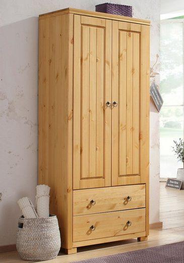Schrank, Home affaire, »Gotland«, Höhe 178 cm, mit Holztüren