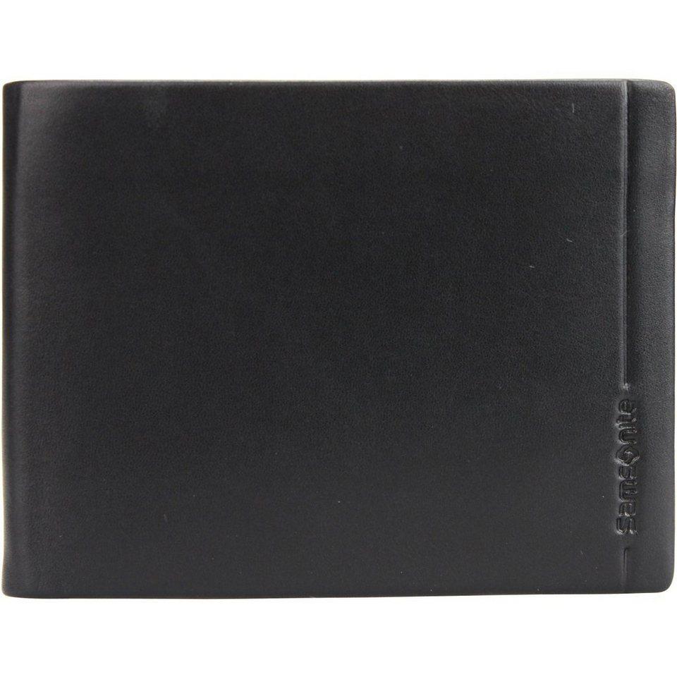 Samsonite Rhode Island SLG Geldbörse Leder 12,8 cm in black