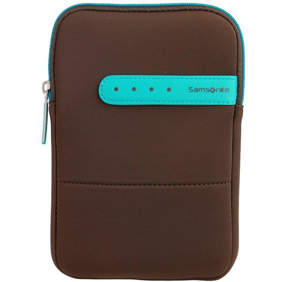 Samsonite Colorshield Tablet Hülle 14.5 cm in dark brown turquoise