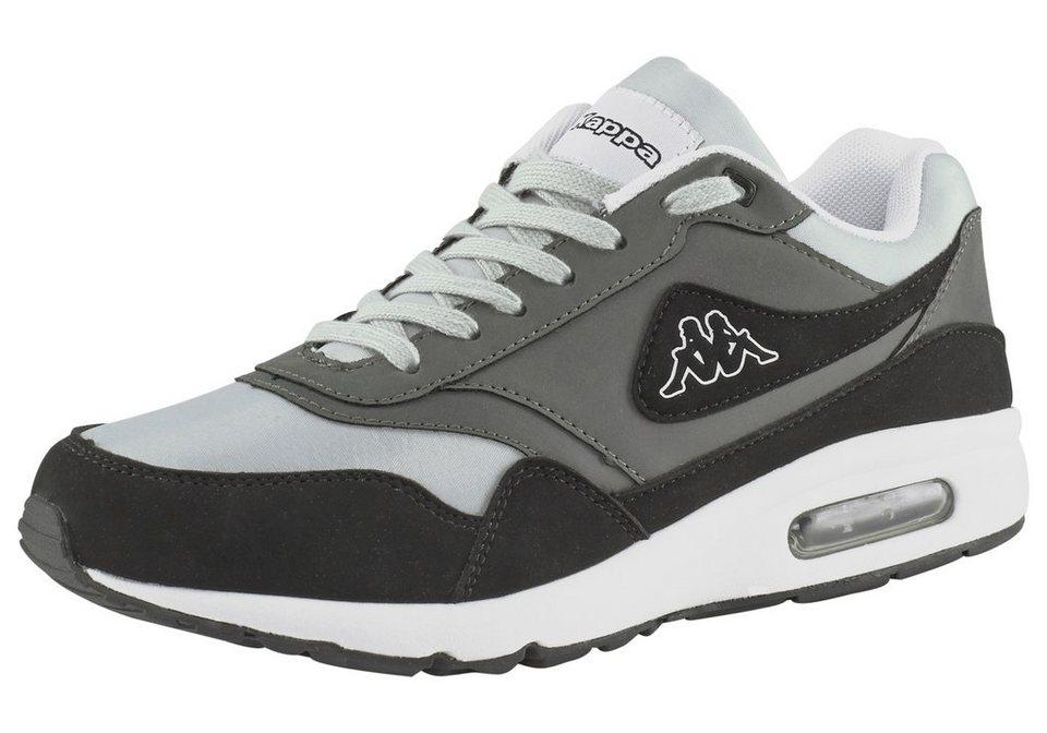 Kappa Konfekt Sneaker in Grau-Schwarz