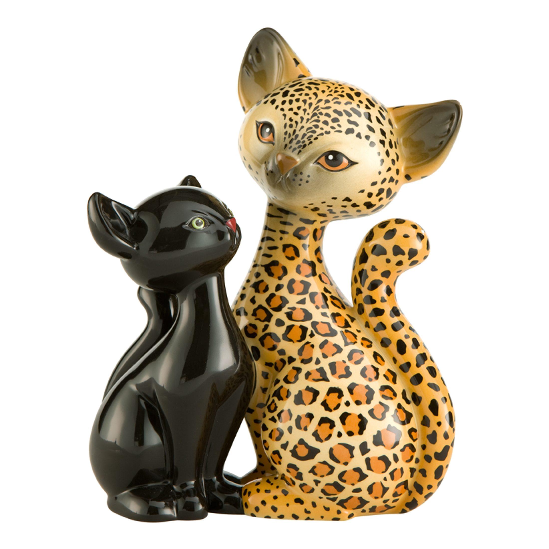 Goebel Leopard Kitty in Love »Kitty de luxe«
