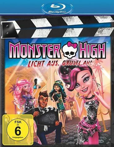 Blu-ray »Monster High - Licht aus, Grusel an!«