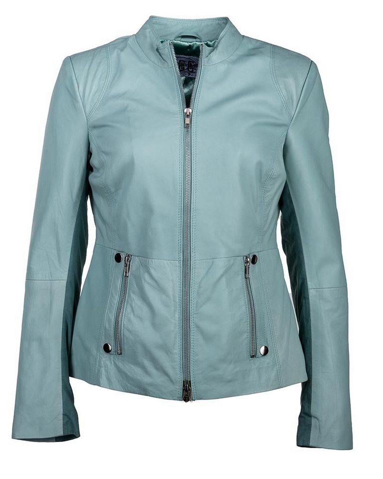 JCC Lederjacke Damen in mint