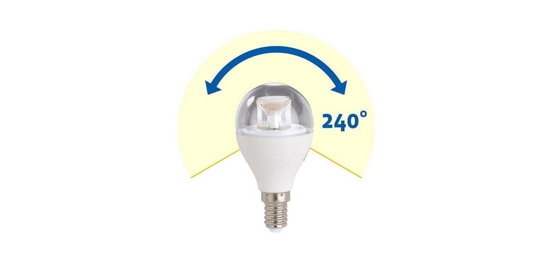 Xavax High Line LED-Lampe, 7W, Tropfenform klar, E14, dimmbar