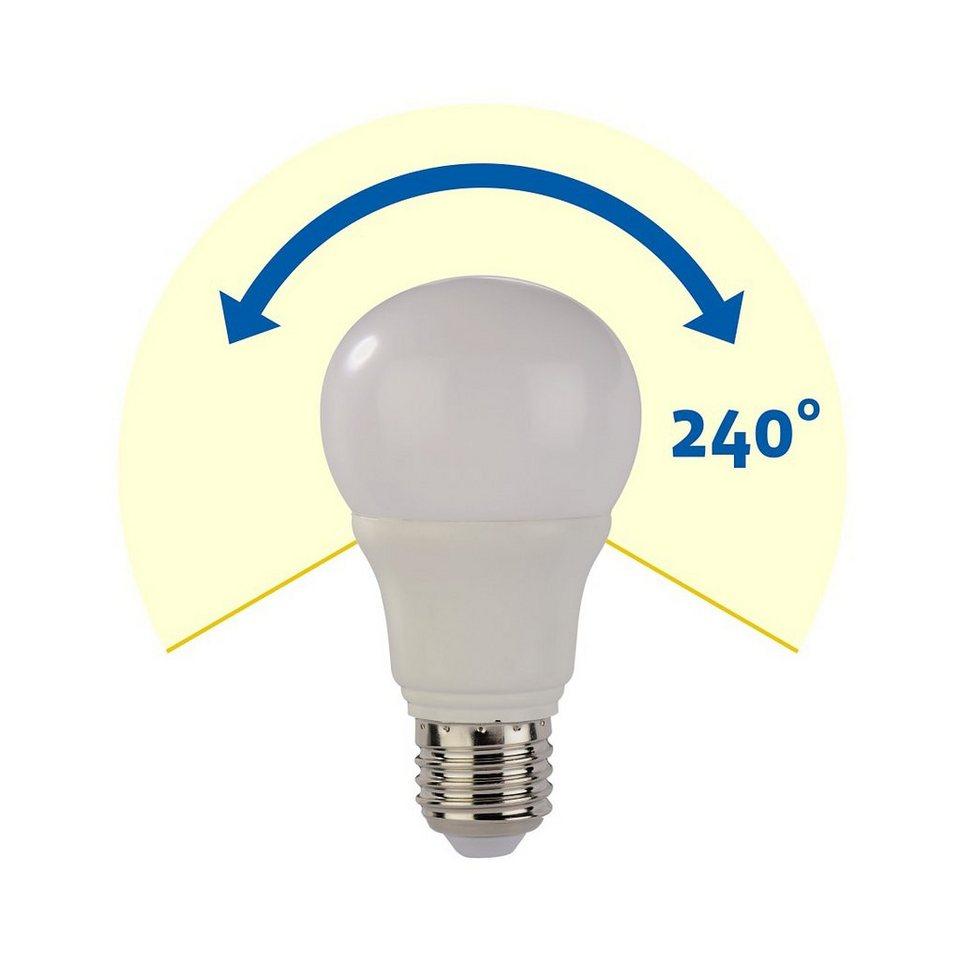 Xavax LED-Lampe, 5,5W, Glühlampenform, E27, Warmweiß in Weiss