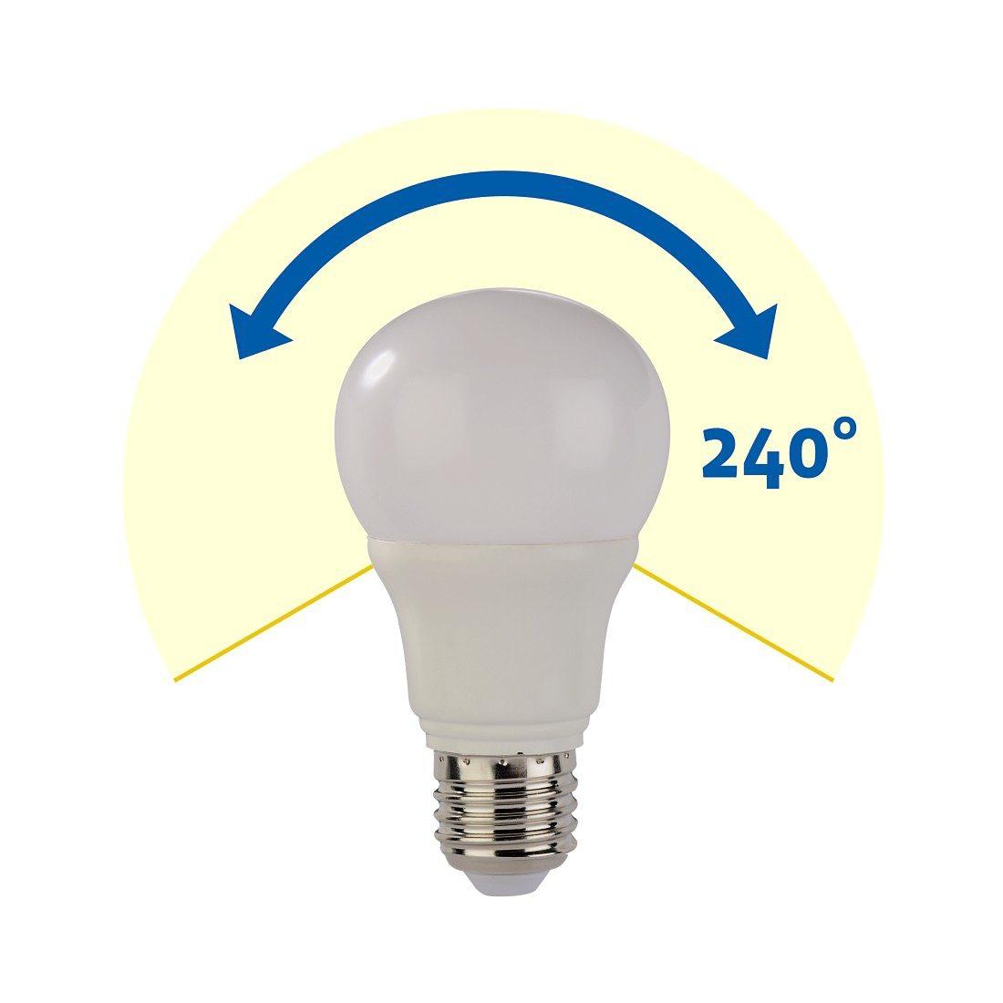 Xavax LED-Lampe, 5,5W, Glühlampenform, E27, Warmweiß