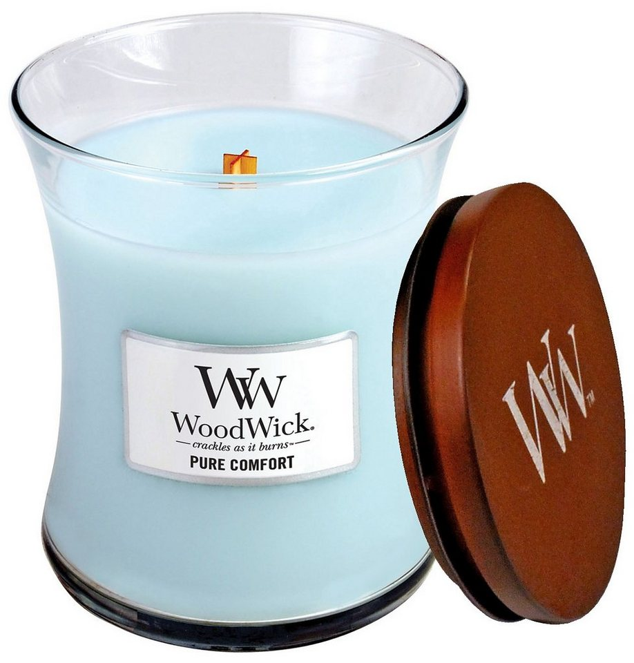 Duftkerze, Home affaire, »WoodWick« in blau