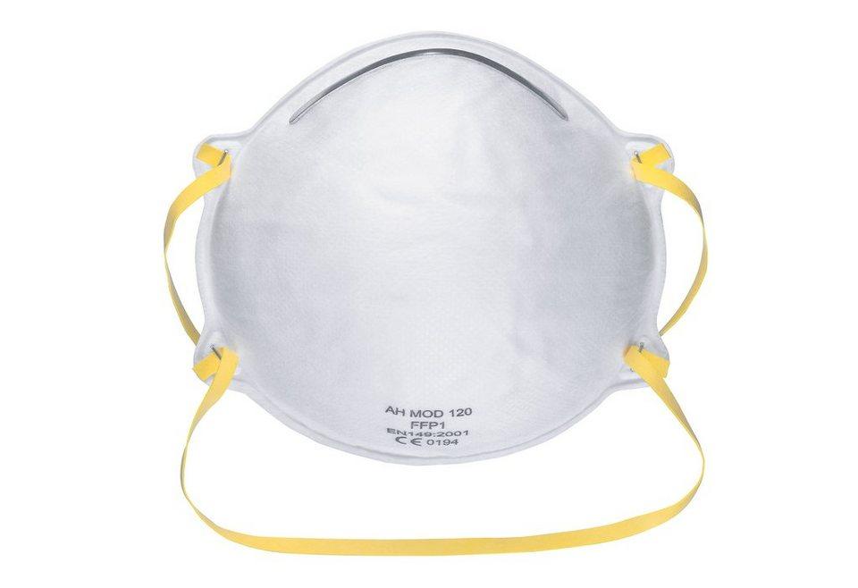 Feinstaubmaske (10 Stück) in weiß