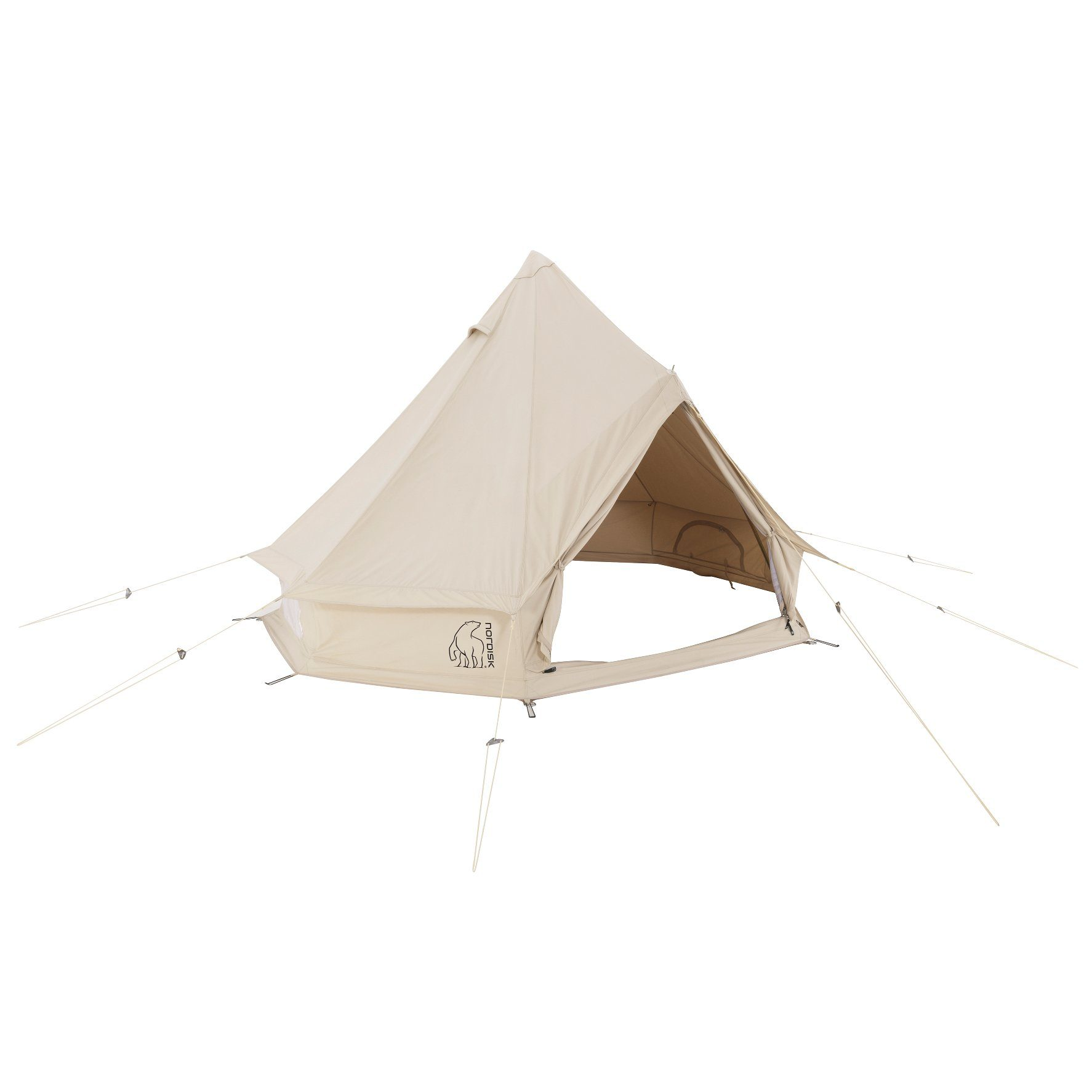 Nordisk Zelt »Asgard 19.6 m² Tent Technical Cotton«