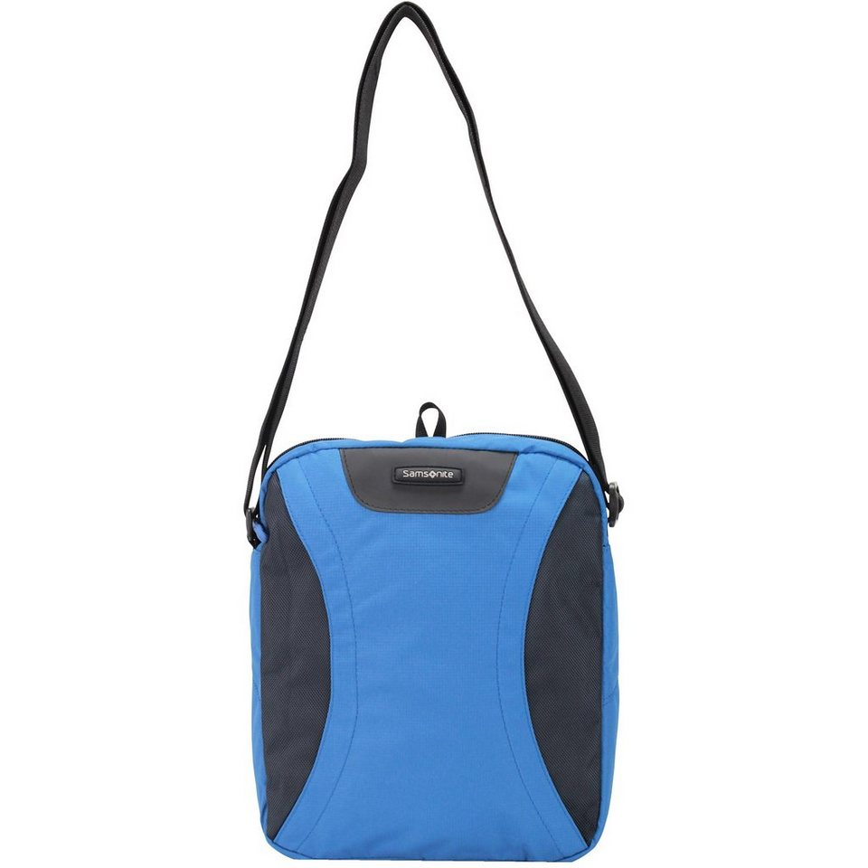 Samsonite Wanderpacks Umhängetasche 35 cm in blue bluish grey