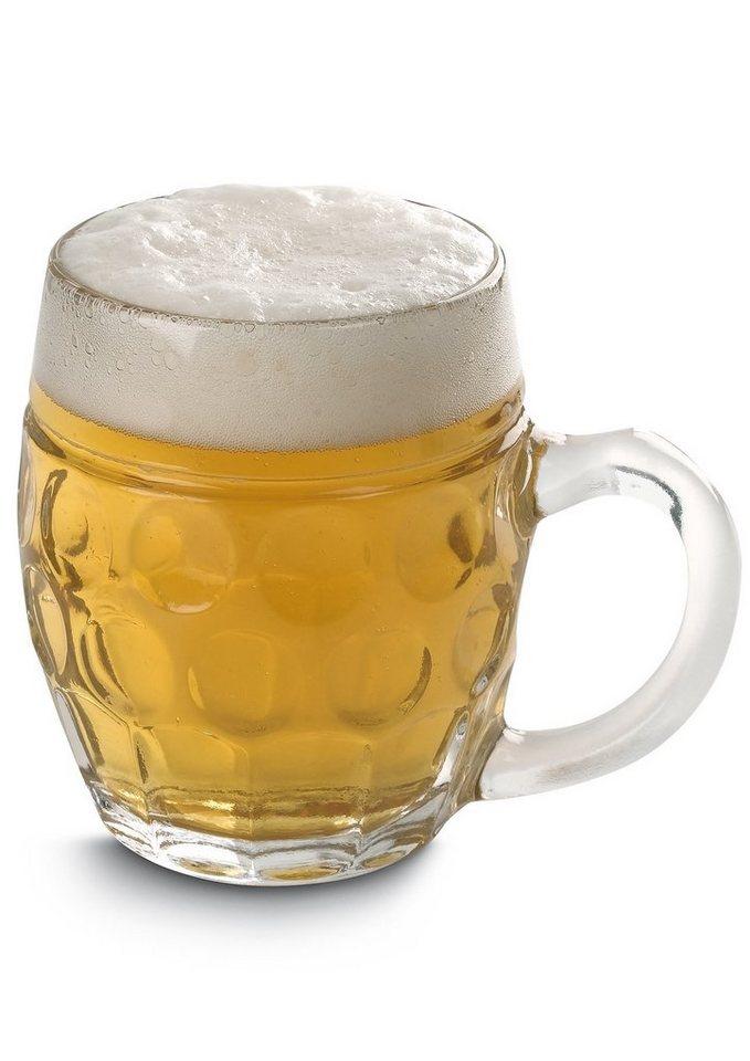 Bierglassserie, Mäser (je 6tlg.)