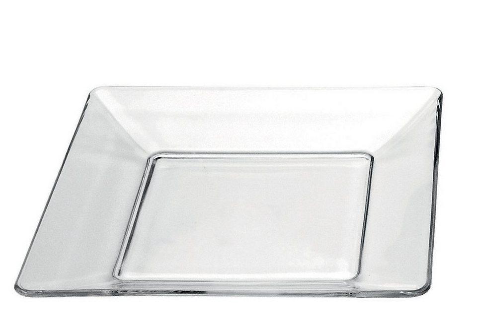 Glasteller-Set, Mäser (6tlg.)