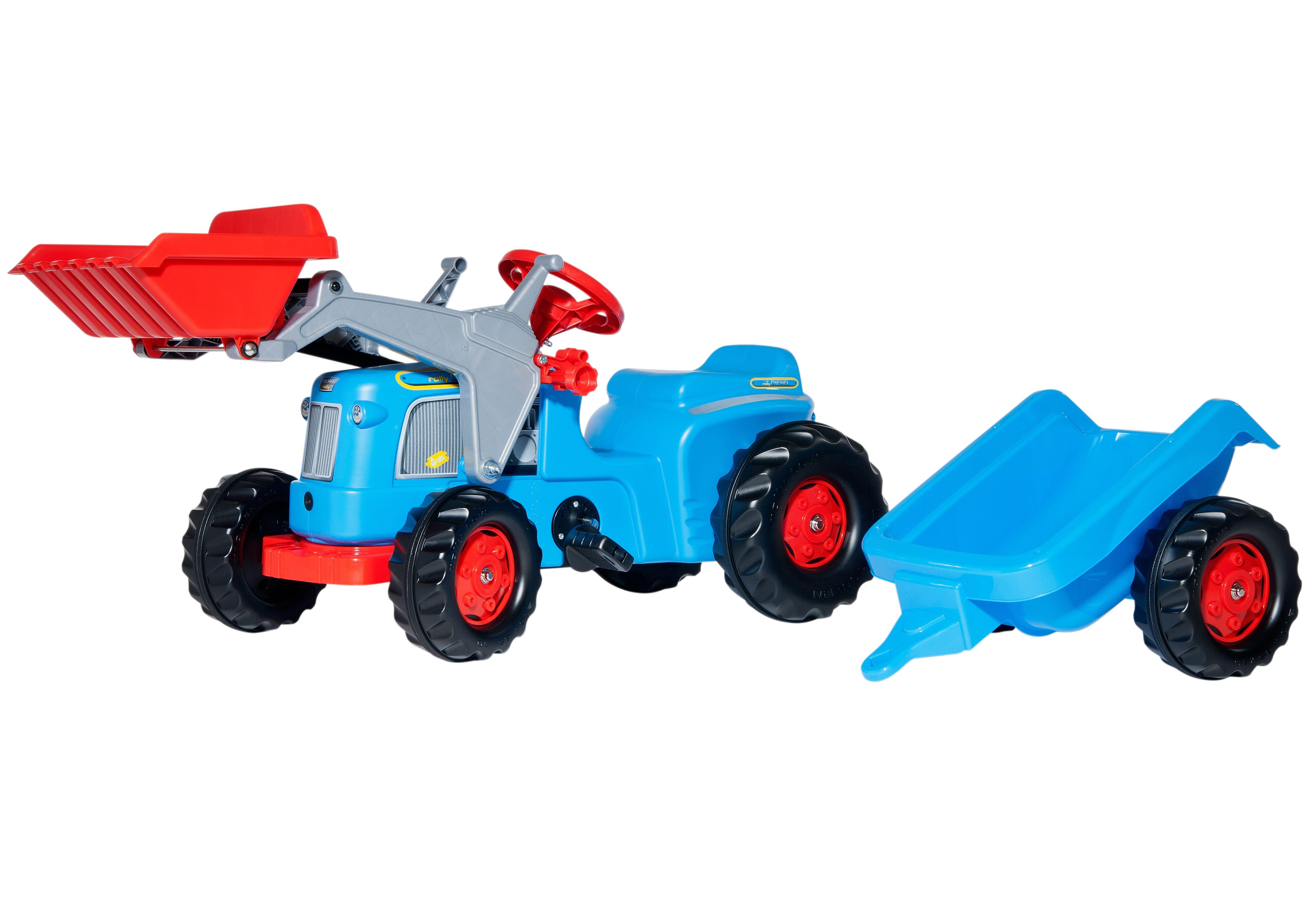 rolly toys® Trettraktor mit Frontlader und Anhänger »rollyKiddy Classic«