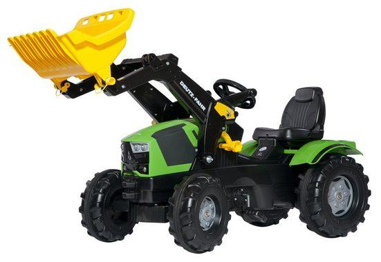rolly toys® Trettraktor »rollyFarmtrac Deutz-Fahr 5120«, mit Frontlader
