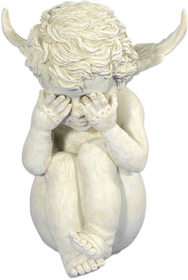 Dekofigur, Home affaire, »Engel - nicht sehen« in weiß
