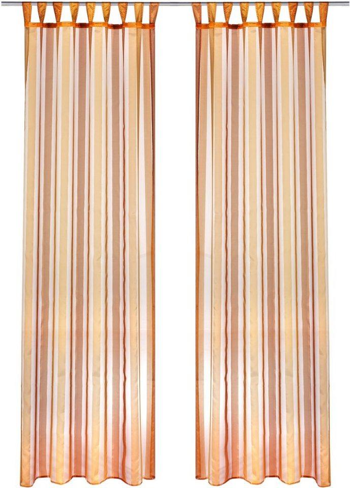vorhang weckbrodt gardinen athen mit schlaufen 1 st ck online kaufen otto. Black Bedroom Furniture Sets. Home Design Ideas