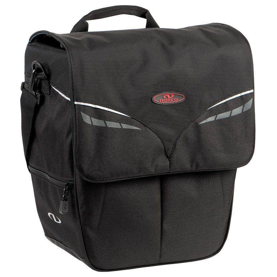 Norco Gepäckträgertasche »Ohio City Shopper schwarz«