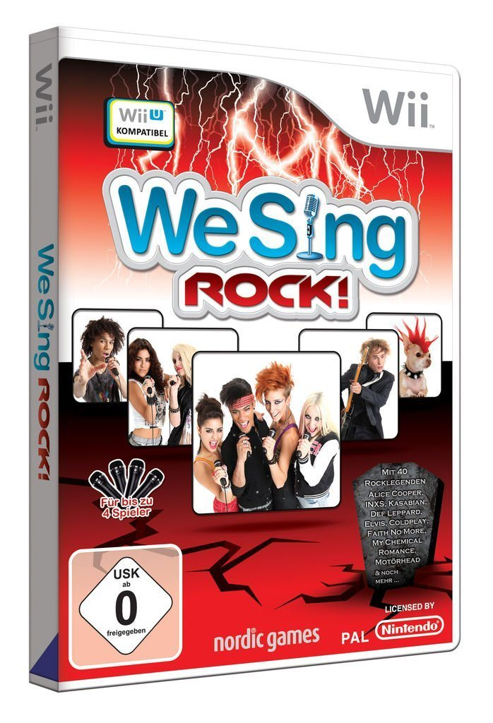 Wii - Spiel »We Sing Rock!«