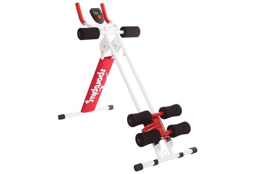 Bauchtrainer, »Ab Plank SP-ALB-011-R«, Sportplus in rot-weiß