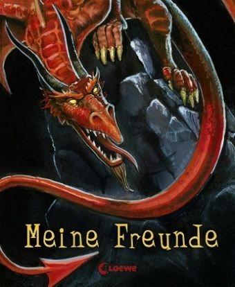 Gebundenes Buch »Meine Freunde: Drache«