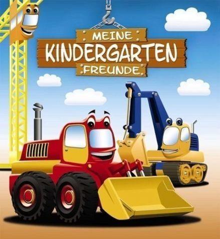 Gebundenes Buch »Meine Kindergarten-Freunde: Bagger«