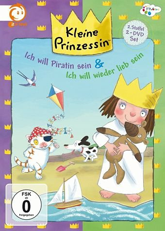 DVD »Kleine Prinzessin - Ich will Piratin sein &...«