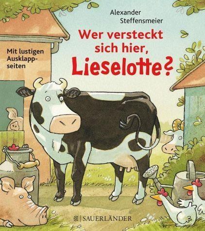 Broschiertes Buch »Wer versteckt sich hier, Lieselotte?«