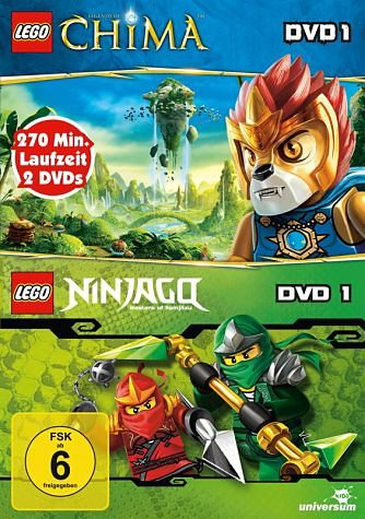 DVD »Lego: Legends of Chima, DVD 1 / Lego Ninjago,...«