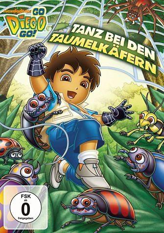 DVD »Go, Diego! Go! - Tanz bei den Taumelkäfern«