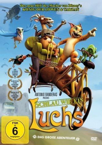 DVD »Schlau wie ein Luchs / Eine schräge Bande auf...«