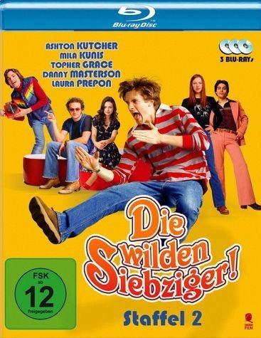 Blu-ray »Die wilden Siebziger - Staffel 2 (3 Discs)«