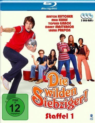 Blu-ray »Die wilden Siebziger - Staffel 1 (3 Discs)«